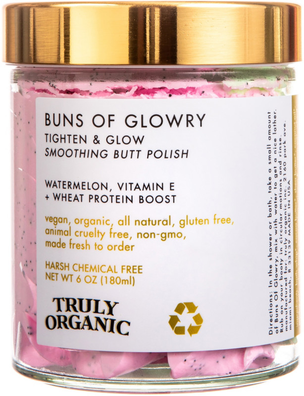 Buns Of Glowry Tighten & Glow Smoothing Butt Polish by Truly Organic