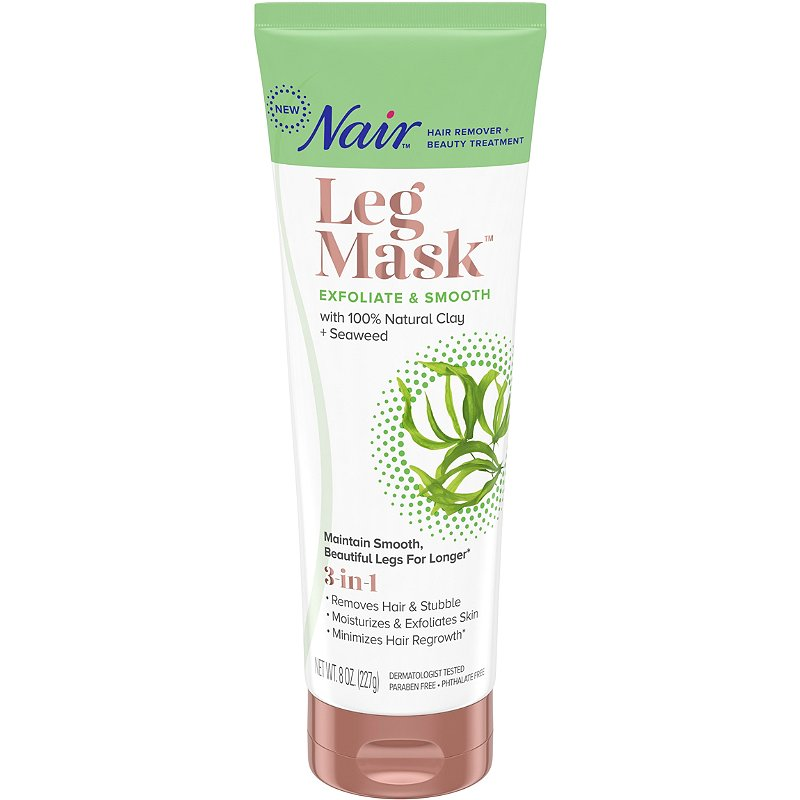 Nair Clay Seaweed Exfoliate Smooth Leg Mask Ulta Beauty