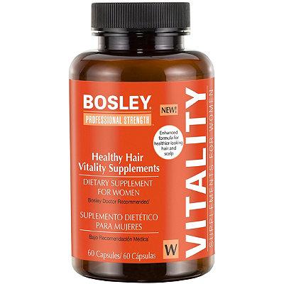 Women's Healthy Hair Vitality Supplement