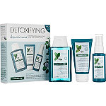 Klorane Detoxifying Kit With Aquatic Mint