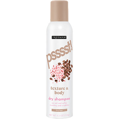 Texture And Body Dry Shampoo for fine hair