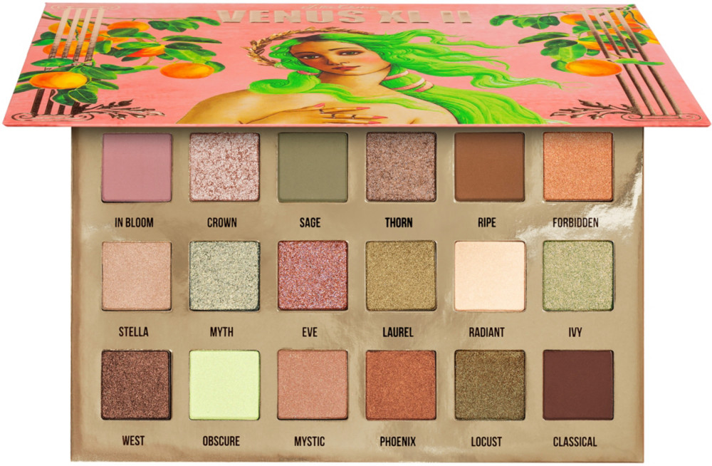 Venus Xl 2 Pressed Powder Eyeshadow Palette by Lime Crime