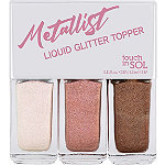 Touch In Sol Online Only Metallist Liquid Topper Trio #1 Romantic Rose Look