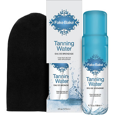 Flawless Tanning Water Self Action Tanner & Professional Mitt