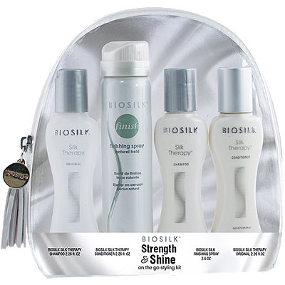 Strength and Shine On the Go Styling Kit