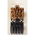 Riviera Riviera Flat Bottom Scoop Claw Clips 2 Pc