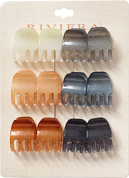 Riviera Assorted Color Claw Clips 12 Pc Ulta Beauty