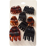 Riviera Mixed Size Claw Clips 10 Pc