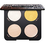 LASplash Cosmetics Online Only Golden Gatsby Old Money Quad Highlighter Palette