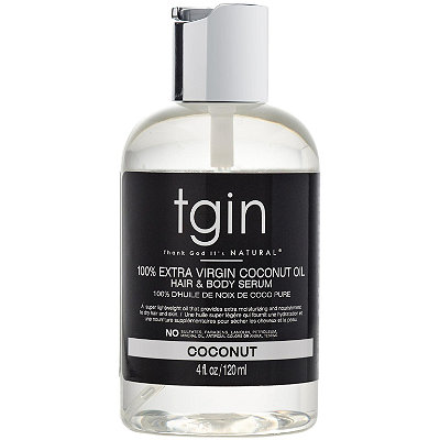 100% Extra Virgin Coconut Oil Hydrating Hair & Body Serum