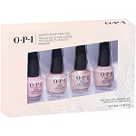 OPI Always Bare For You Nail Lacquer 4pc Mini Pack