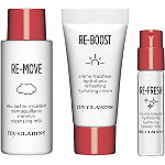 My Clarins Platinum Perk! FREE 3 Pc Gift w/any $40 Skincare purchase