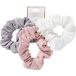 Riviera Soft Knitted Twister Scrunchies 3 Pieces