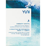 YUNI Shower Sheets Large Body Wipes