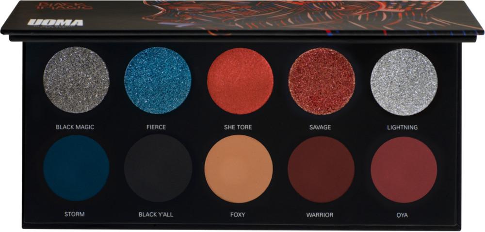 UOMA BEAUTY | Savage Black Magic Color Palette