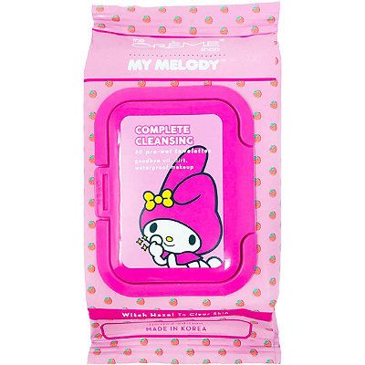 Hello Kitty My Melody Complete Cleansing Witch Hazel Towelettes