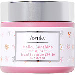 Awake Beauty Hello, Sunshine Moisturizer Broad Spectrum Spf 30 Sunscreen