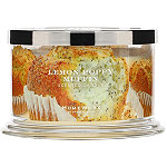 HomeWorx Lemon Poppy Muffin 4 Wick Candle