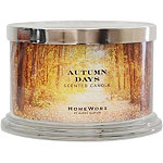 HomeWorx Autumn Days 4 Wick Candle
