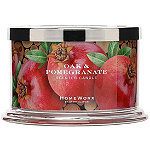 HomeWorx Oak & Pomegranate 4 Wick Candle