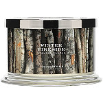 HomeWorx Winter Fireside 4 Wick Candle