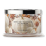 HomeWorx Spiced Vanilla Pumpkin 4 Wick Candle
