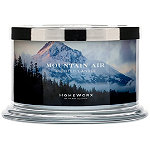 HomeWorx Mountain Air 4 Wick Candle