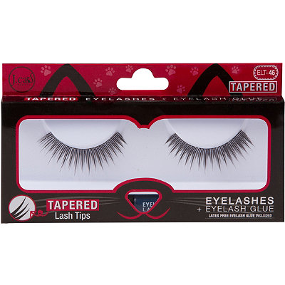 Online Only Tapered Lashes + Glue #ELT46