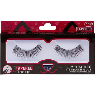 Online Only Tapered Lashes + Glue #ELT82