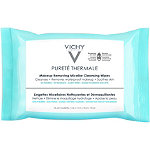 Vichy Online Only Pureté Thermale Makeup Remover, Micellar Water Cleansing Wipes
