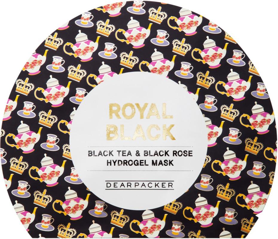 Online Only Black Tea & Black Rose Hydrogel Mask by Dearpacker