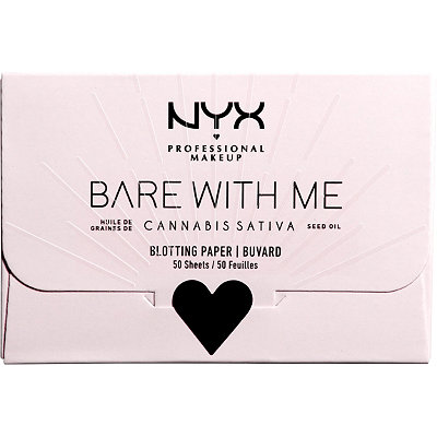 Bare With Me Cannabis Sativa Seed Oil Blotting Paper