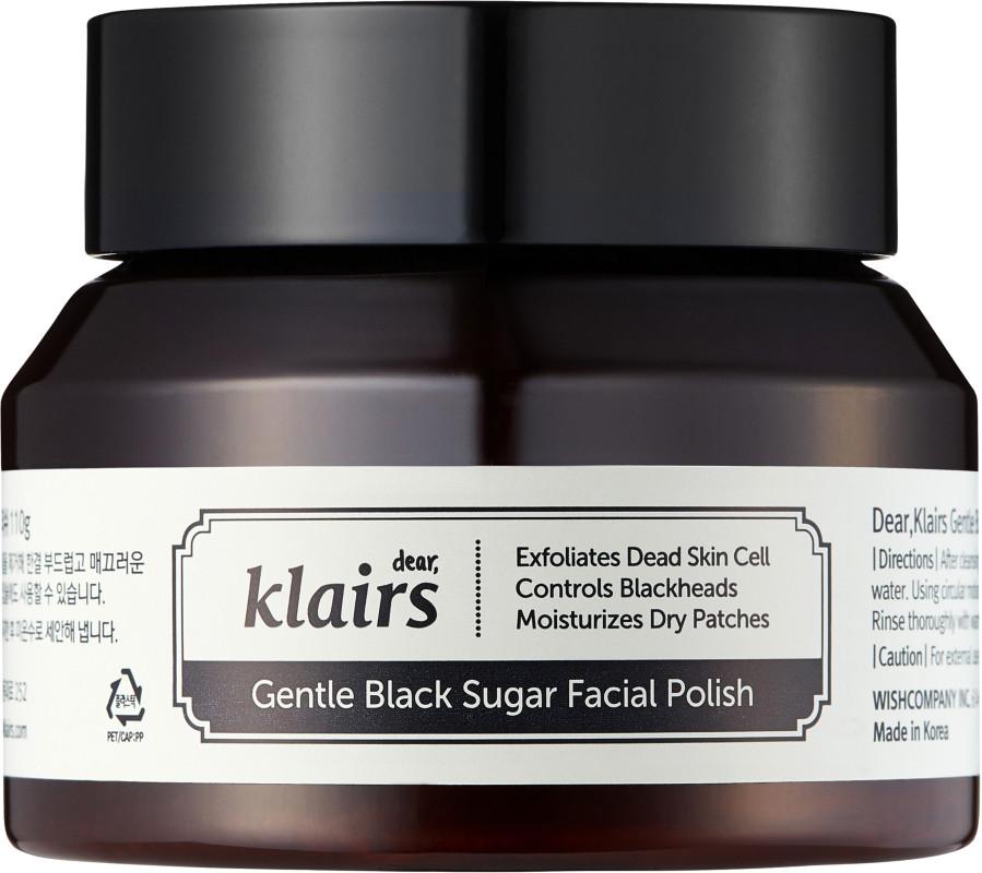 Gentle Black Sugar Facial Polish