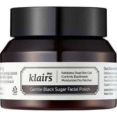 Online Only Gentle Black Sugar Facial Polish