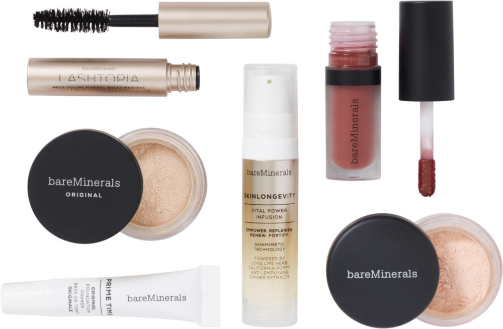 Beauty Break! Free 6 Pc Gift In Fairly Light Wtih Any $50 Online Purchase by Bare Minerals