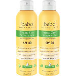 Babo Botanicals Online Only Sheer Zinc Continuous Spray Sunscreen SPF 30 Duo