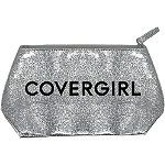 CoverGirl FREE Glitter Cosmetic Bag w/any $10 CoverGirl online purchase