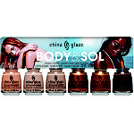 China Glaze Online Only Body & Sol Collection Mini 6 Pc Nail Lacquer