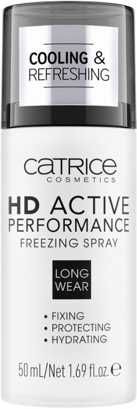 Hd Active Performance Freezing Spray by Catrice
