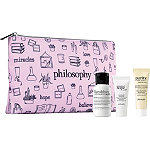 Philosophy Online Only FREE 4 Pc Gift w/any Large Spray Philosophy Amazing Grace Ballet Rose fragrance purchase