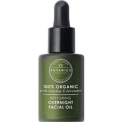 Botanics Organic Restoring Night Oil