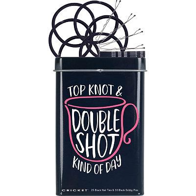 Top Knot Double Shot Hair Tin