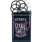 Cricket Top Knot Double Shot Hair Tin