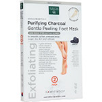 Earth Therapeutics Purifying Charcoal Gentle Peeling Foot Mask