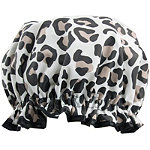 The Vintage Cosmetic Company Leopard Print Shower Cap