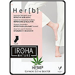IROHA Nourishing Cannabis Hemp Seed Oil Foot Treatment Mask Socks