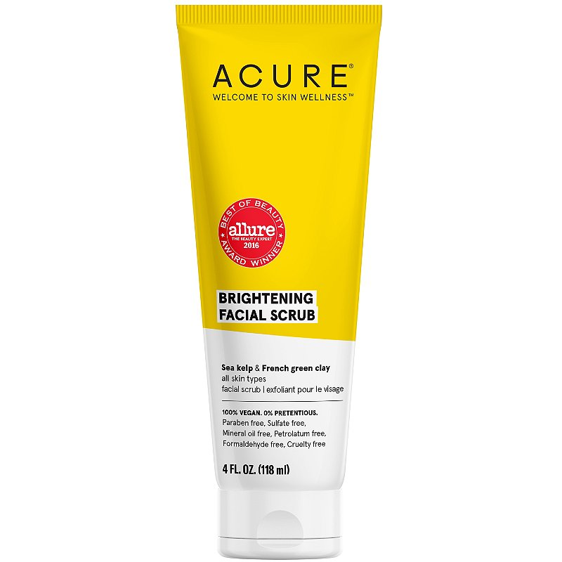 Acure Brightening Facial Scrub Ulta Beauty