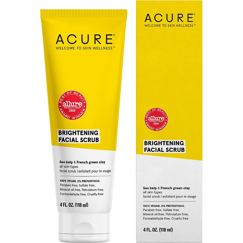 Acure Brightening Facial Scrub Ulta Beauty