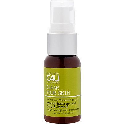 Clear Your Skin - Resurfacing 1% Retinol Serum
