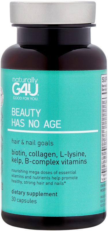 Naturally G4U Beauty Has No Age - Hair & Nail Goals Supplement ...